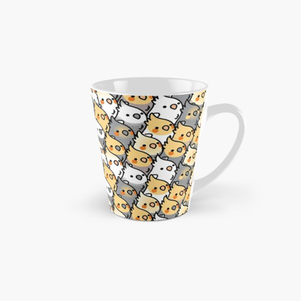 Chubby Cockatiel Party Mug long