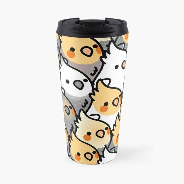 Chubby Cockatiel Party Travel Mug
