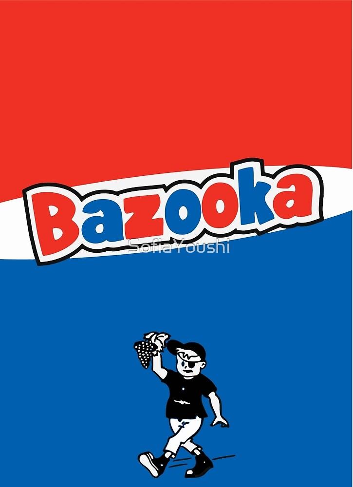 Bazooka bubble chewing gum by SofiaYoushi