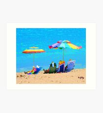 Beach / Ocean ... be4 Art Print