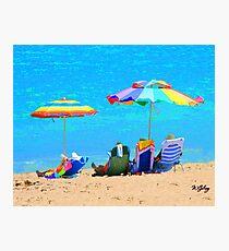 Beach / Ocean ... be4 Photographic Print