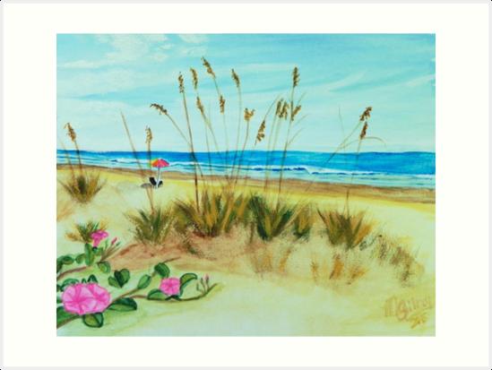 Beach art ... be5 by whiteygilroy