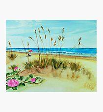 Beach art ... be5 Photographic Print