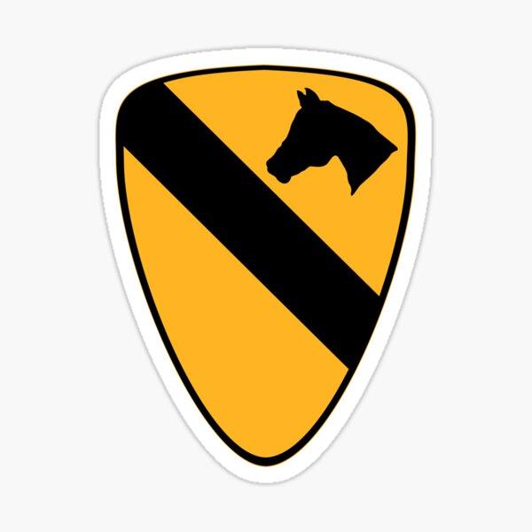 1st Cavalry Sticker