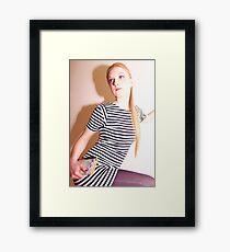 Saturday Shower Framed Print