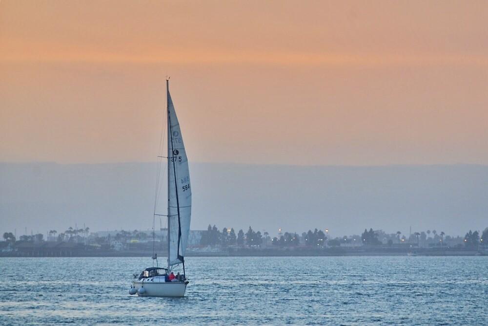 Coronado Sail CALIFORNIA by CaptureLight