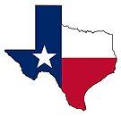 Texas Flag by Sun Dog Montana