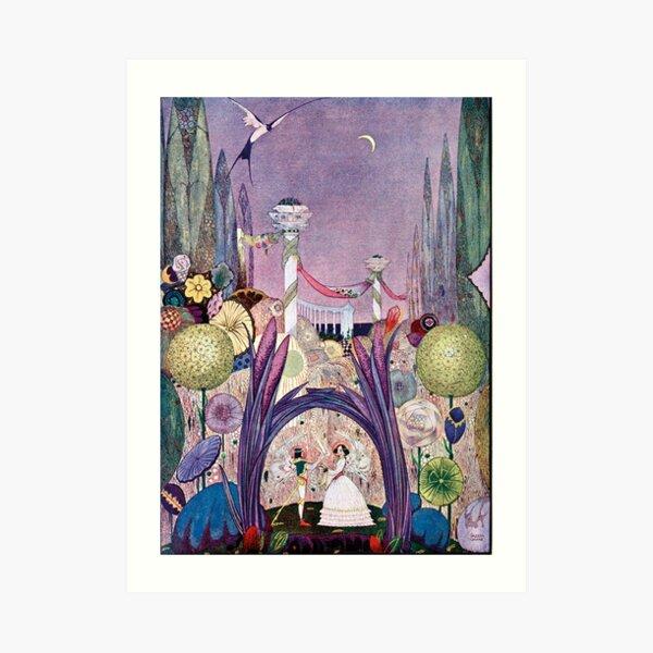 Thumbelina - Harry Clarke Art Print