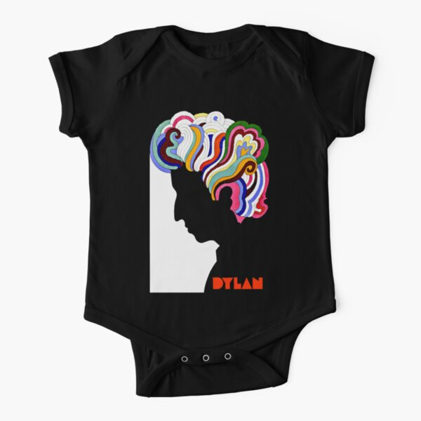 Dylan Retro  Short Sleeve Baby One-Piece