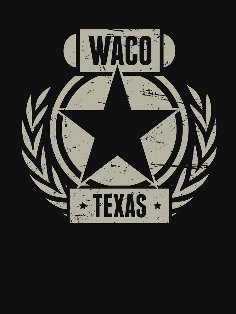 Waco Texas / Central TX Texas - Distressed by EMDdesign