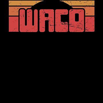 Retro Waco TX / Central Texas TX Resident by EMDdesign