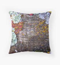 Lichen Playground Throw Pillow