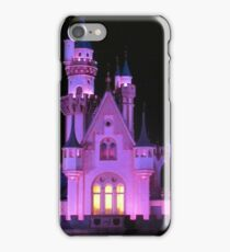 Christmas castle iPhone Case/Skin