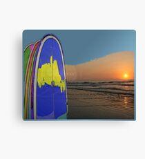 Beach art ... be13 Canvas Print