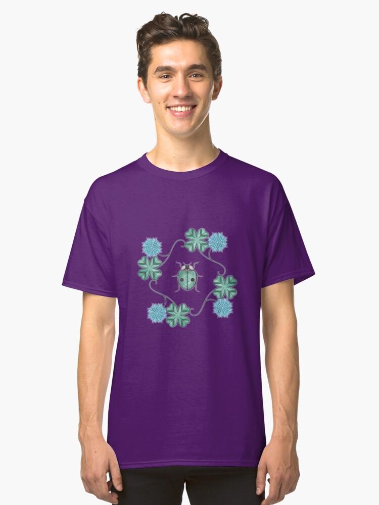 LadyBug Clovers - Emeraude Classic T-Shirt Front
