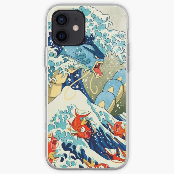The Great Wave of Kanagawa art piece iPhone Soft Case