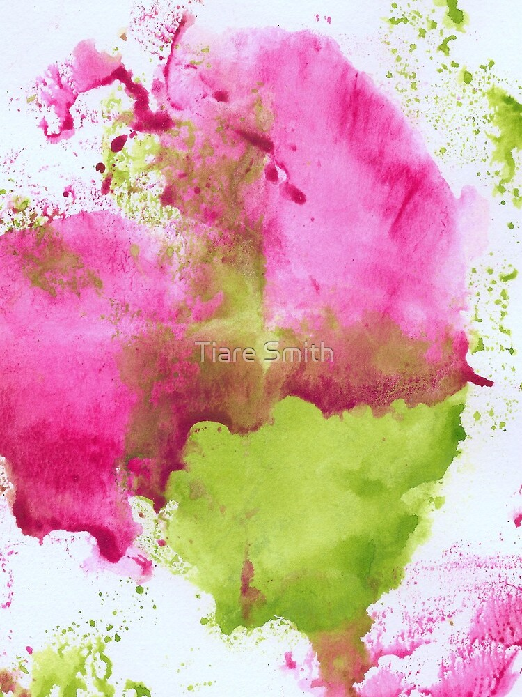 Pink and Green Splotch by classygirl