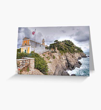 Church of San Giorgio - Portofino Greeting Card