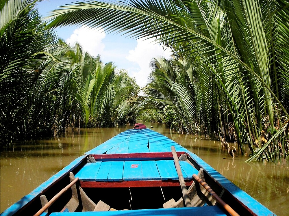 Chilling down the Mekong Delta by yiska