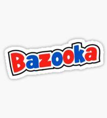 Bazooka retro bubble gum Sticker