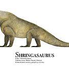 Shringasaurus by Liam Elward
