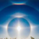 Sundogs in Noonan, North Dakota by Jerry Walter