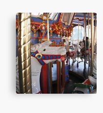 Horse from the carousel  Canvas Print