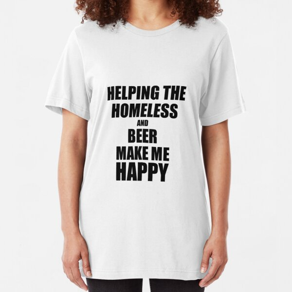 Beer Helping White People Dance Since 1842 Logo T-Shirt Funny Sarcasm Mens Black