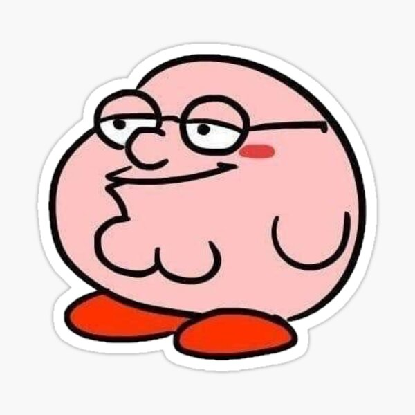 Kirby Griffin Pegatina