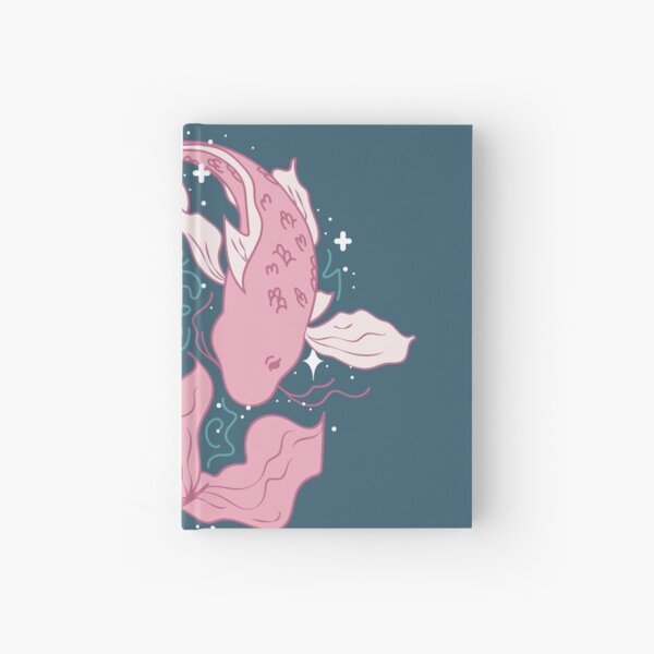 Pisces Fish - PINK Hardcover Journal