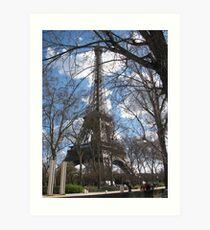 Spring Time in Paris Art Print