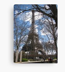 Spring Time in Paris Canvas Print