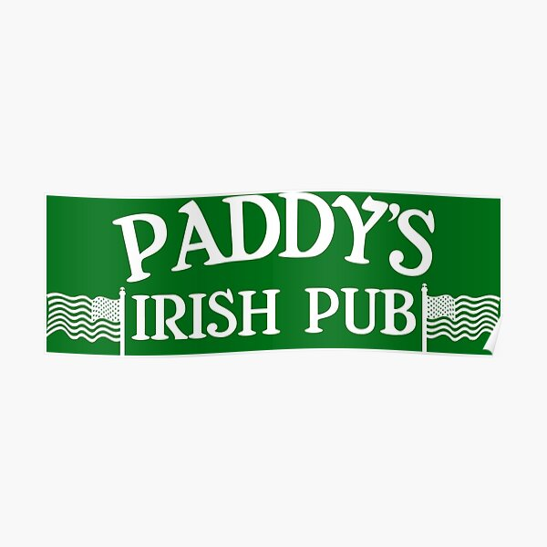 Paddy's Irish Pub Poster