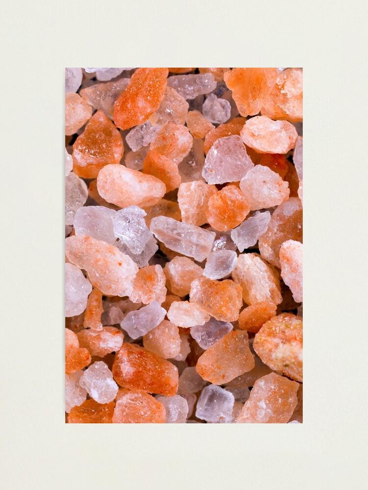 Alternate view of Himalayan rock salt Photographic Print