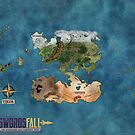 The Tikor World Map by Swordsfall