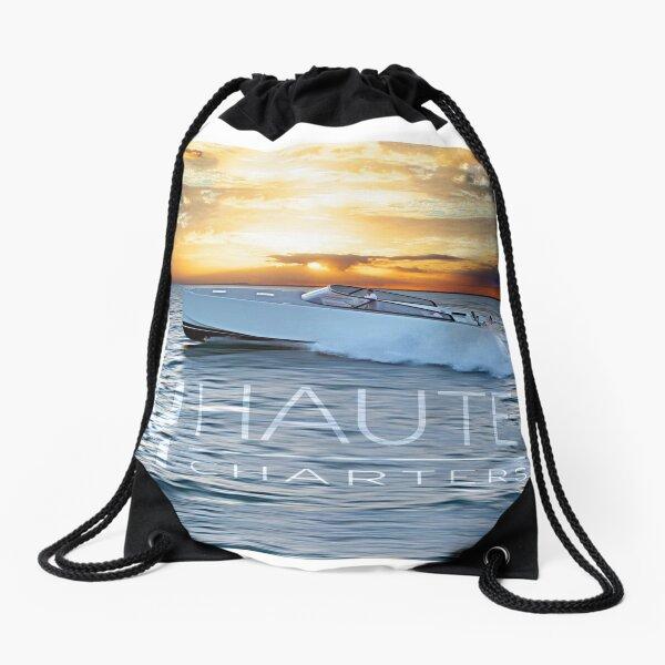 Haute Charters Yachts Drawstring Bag