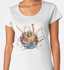 Udon Oooodon Monster Noodles Women's Premium T-Shirt