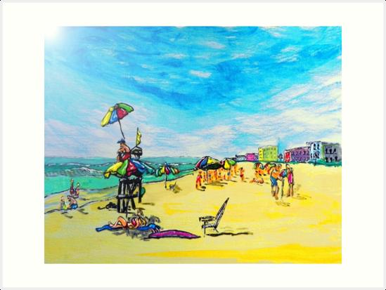 Beach art ... be23 by whiteygilroy