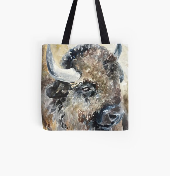 A Member of the Herd All Over Print Tote Bag