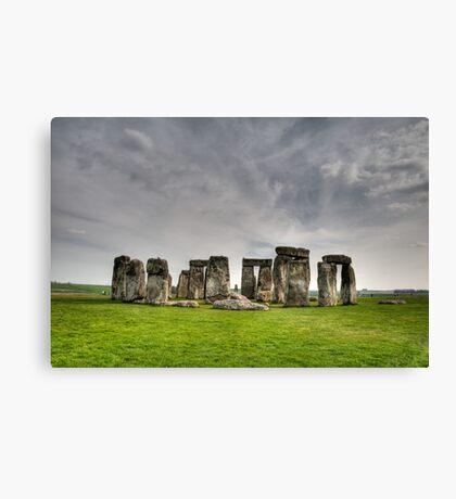 Stonehenge HDR Canvas Print