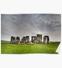 Stonehenge HDR Poster