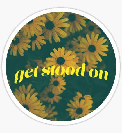 Vintage Beleidigung Sticker