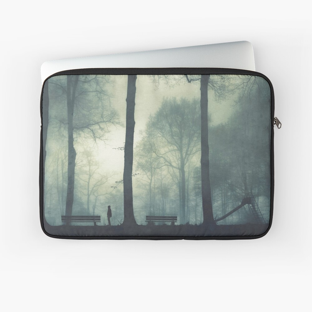 1-2-3-4 Misty Playground Laptop Sleeve