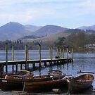 boats at Keswick by monkeyferret
