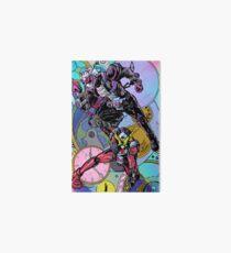 The Overlord and the Savior Art Board Print