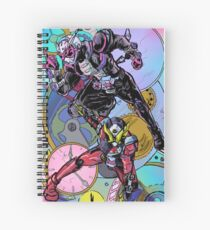 The Overlord and the Savior Spiral Notebook