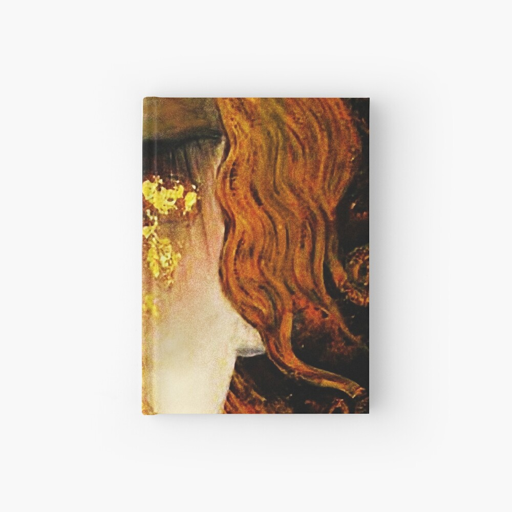 Klimt Golden Tears Hardcover Journal