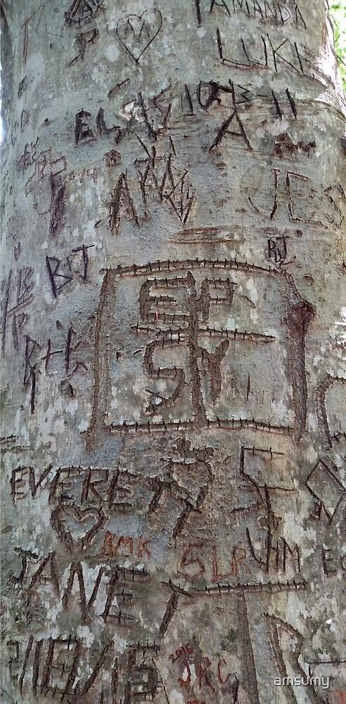 Graffiti Tree by amsumy