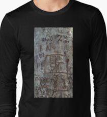 Graffiti-Baum Langarmshirt
