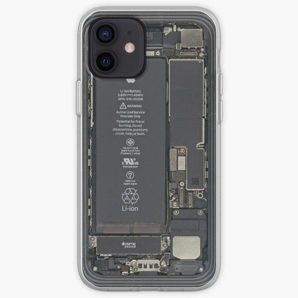 je téléphone à l'intérieur Coque souple iPhone